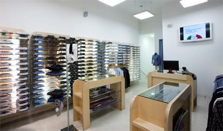 4835fdde Corners y tiendas completas con nuestras Franquicias de camisas Italianas,  fabrica de camisas Italianas para